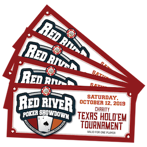 4 Red River Poker Showdown tickets