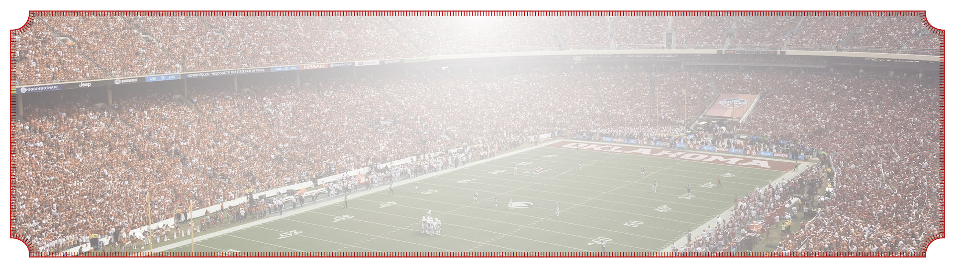 football stadium game background